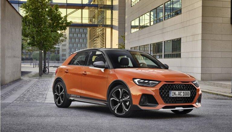 'Audi' paaugstinātās pārgājības hečbeks 'A1 citycarver'