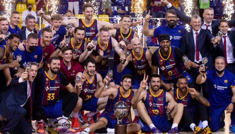 Šmits kļūst par Spānijas čempionu basketbolā