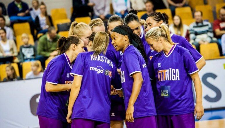 'TTT Rīga' basketbolistes droši uzvar Latvijas un Igaunijas apvienotā čempionāta līderu spēlē