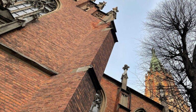 LTV7: Благоустройство вокруг старой Рижской Церкви св. Гертруды под угрозой