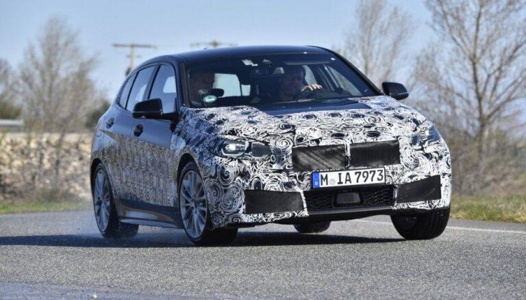 BMW jaunā 1. sērija iegūs visjaudīgāko četrcilindru motoru markas vēsturē