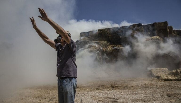 Noslēgtais pamiers Gazas joslā pamatā tiek ievērots