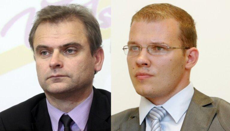 VL-TB/LNNK pārstāvju 'ekskursija' pa LTV ēku noslēdzas Kota kabinetā ar sarunu par budžetu un latviskumu
