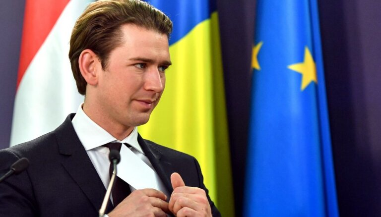 Kā Austrija Eiropu sargāja: diskusija EP ar kancleru Kurcu