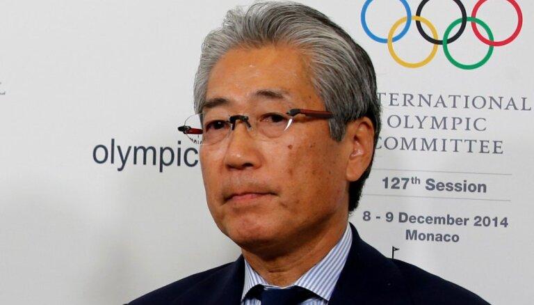Japānas Olimpiskās komitejas prezidentu Francijā apsūdz kukuļošanā