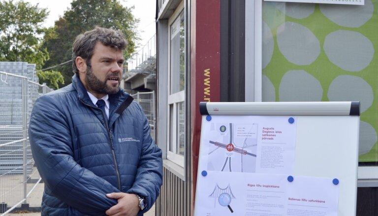Якринс: опасения Госполиции и министра о безопасности Деглавского моста не считаю серьезным аргументом