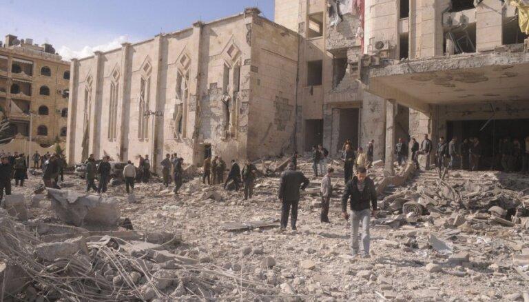 Lielbritānija no Sīrijas atsauc visu savu diplomātisko korpusu