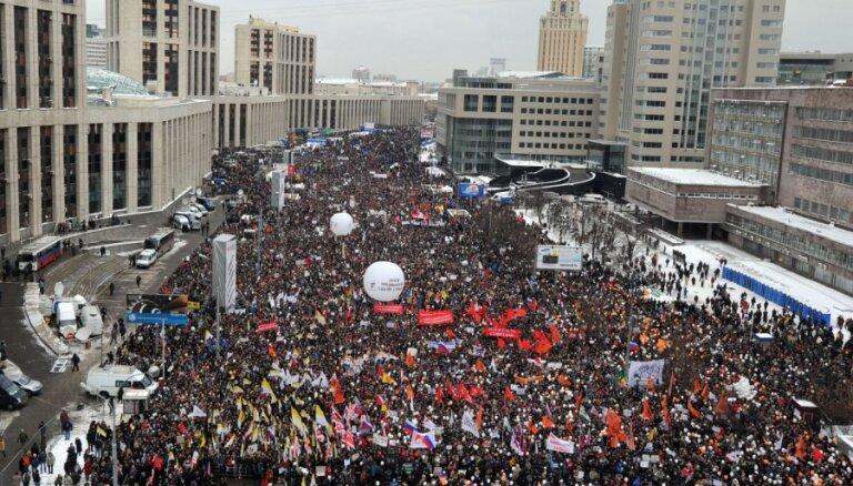 """Россия: лидеры оппозиции после обысков призывают устроить новый """"Оккупай"""""""