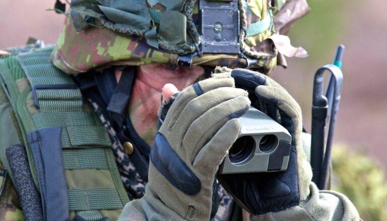 Базирующиеся в Эстонии войска НАТО проведут учения в Латвии