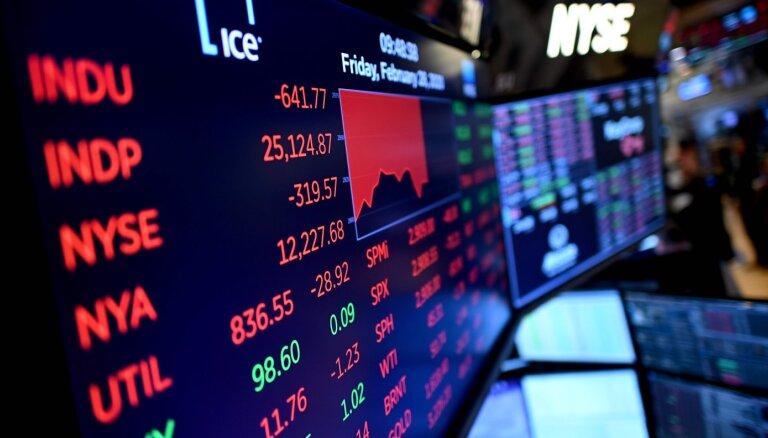 Akciju cenas noslēdz ceturksni ar kritumu