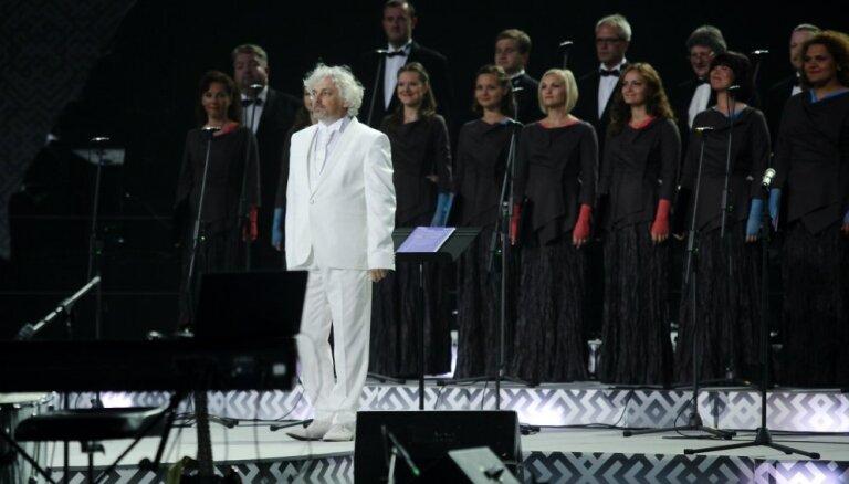 Foto: Pasaules koru olimpiādes otrais Zvaigžņu koncerts