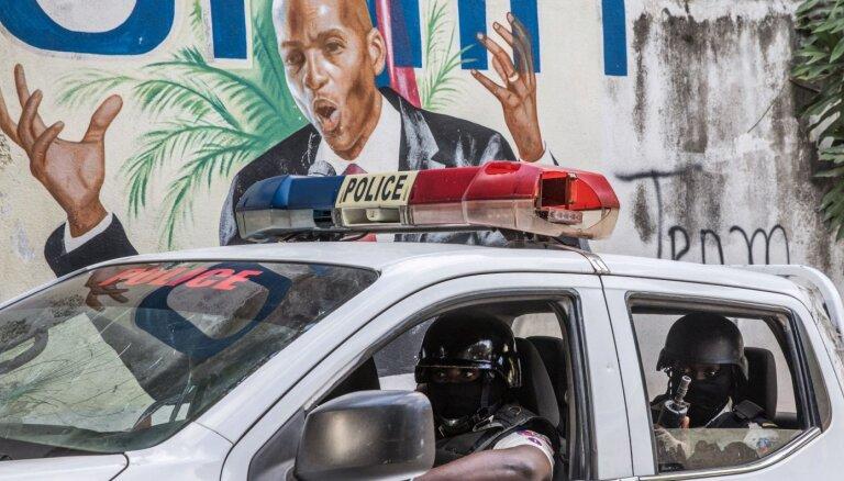 Haiti prezidenta slepkavība: kolumbieši zinājuši par plānu nogalināt Moizu