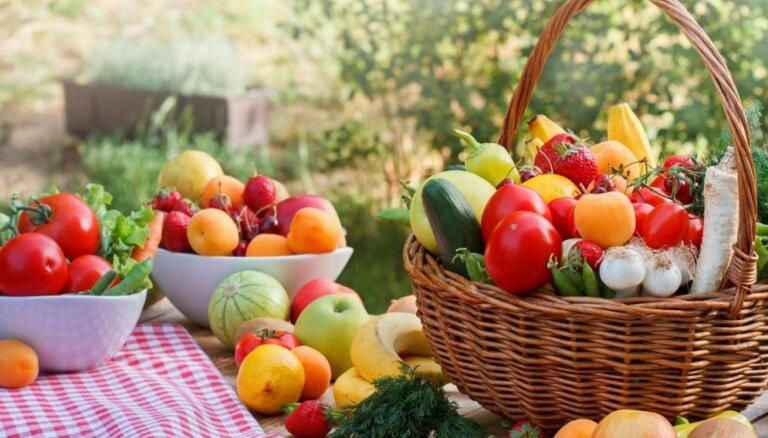 Ķirši, zirnīši, kabači, dilles. Kā iecienītākie vasaras gardumi var uzlabot veselību?