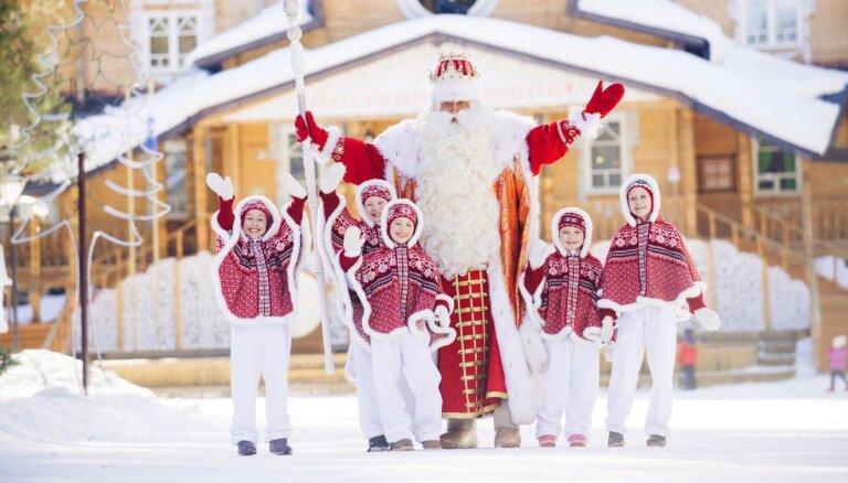 Дед Мороз из Великого Устюга посетит Латвию