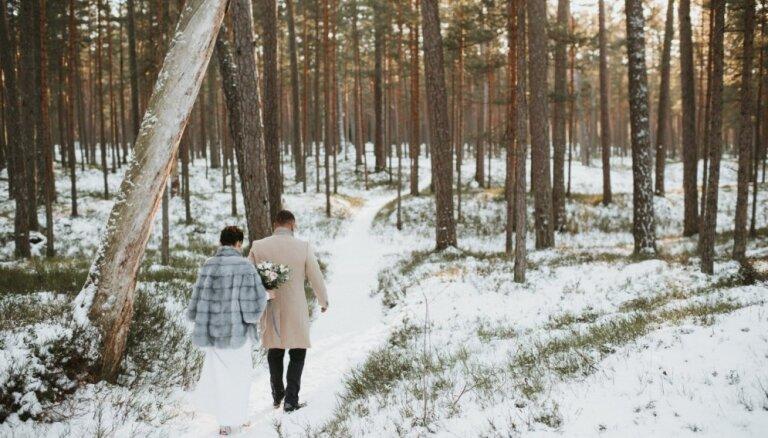 Maciņam draudzīga izvēle – kāzas ziemā. Eksperte skaidro svinību rīkošanu aukstajā sezonā