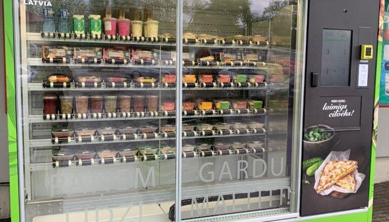 Сеть магазинов Elvi устанавливает автоматы по продаже готовой еды