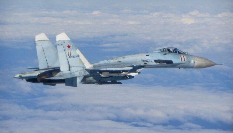 ВИДЕО: ВВС Бельгии перехватили над Балтикой российские военные самолеты