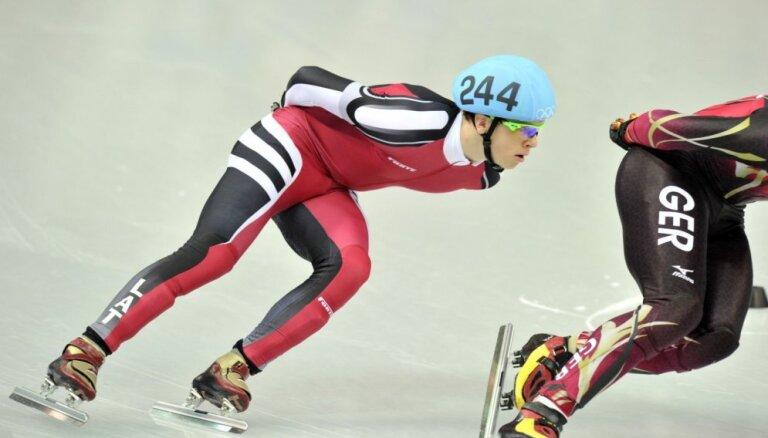 Šorttrekists Puķītis izcīna trešo vietu Eiropas čempionātā 1000 metru distancē