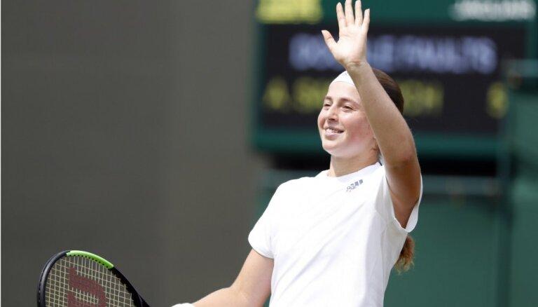 Алена Остапенко впервые в карьере вышла в полуфинал Уимблдона