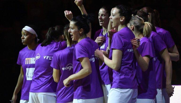 'TTT Rīga' basketbolistes ar uzvaru Baltijas līgā nodrošina savu šosezon pirmo titulu