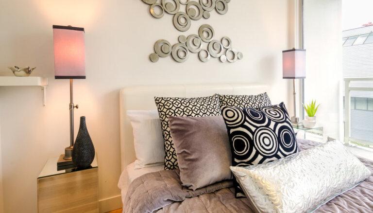 Četras kļūdas, kas tiek bieži pieļautas guļamistabas iekārtojumā
