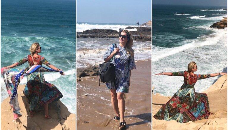 Foto: Agneses Zeltiņas krāšņie piedzīvojumi Marokā