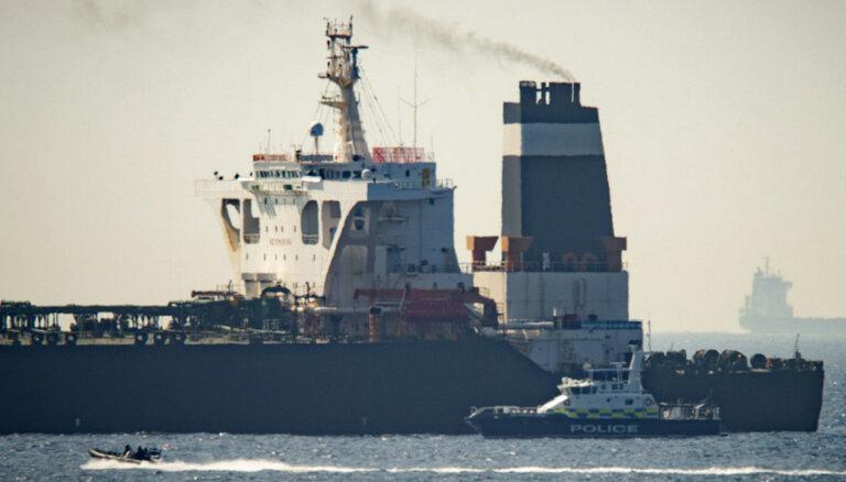 В Гибралтаре задержан супертанкер по подозрению в поставках нефти в Сирию