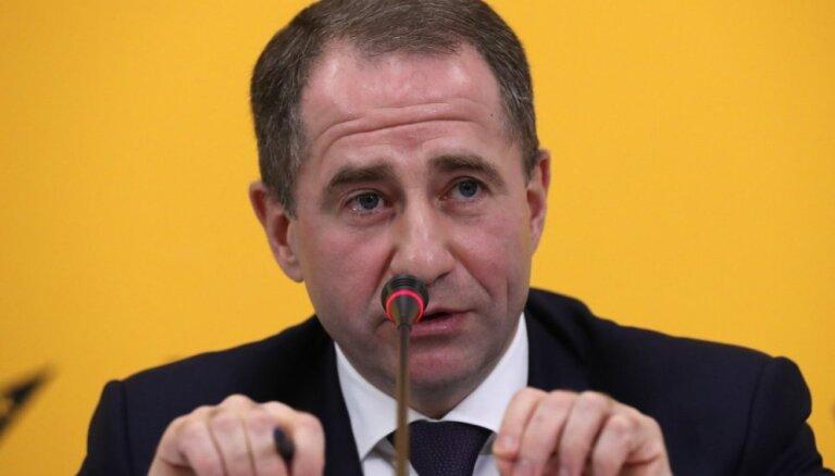 Krimas okupācijas piecgade: Minskā žurnālisti boikotē Krievijas vēstnieka preses konferenci