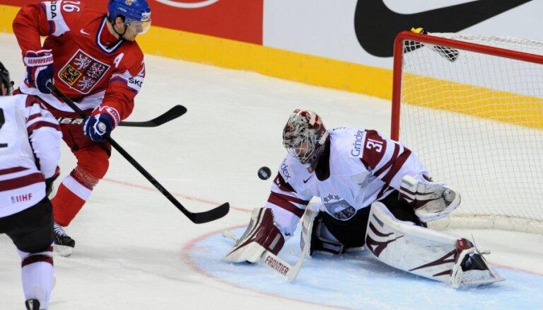 Latvijai neizdodas sagādāt pārsteigumu spēlē pret Čehiju