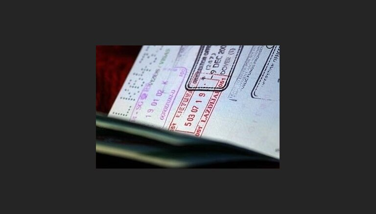 Pērn nedaudz kāpis Latvijas vīzu tīkotāju skaits