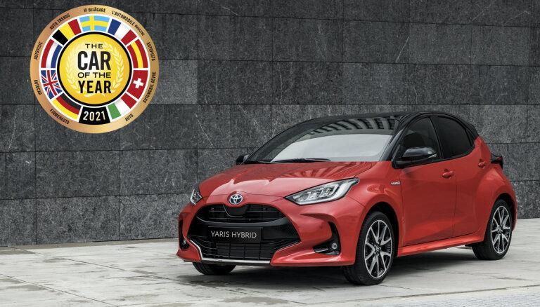 Par 'Eiropas Gada auto 2021' atzīts 'Toyota Yaris'