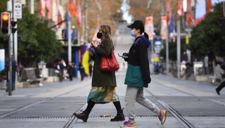 Covid-19: Melburnā uz nedēļu noteikti stingri ierobežojumi