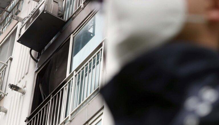 Vīrietis Dienvidkorejā nogalinājis piecus cilvēkus un aizdedzinājis dzīvokli