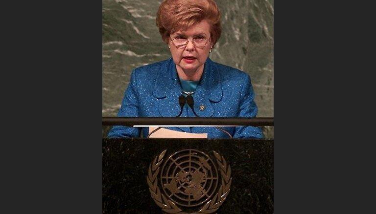 """На """"Саммите Тысячелетия"""" президент Латвии критикует работу ООН"""