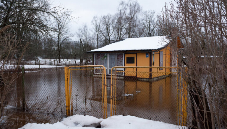 Atklāts Ogres upes aizsargdambis, kas izmaksājis 1,23 miljonus eiro