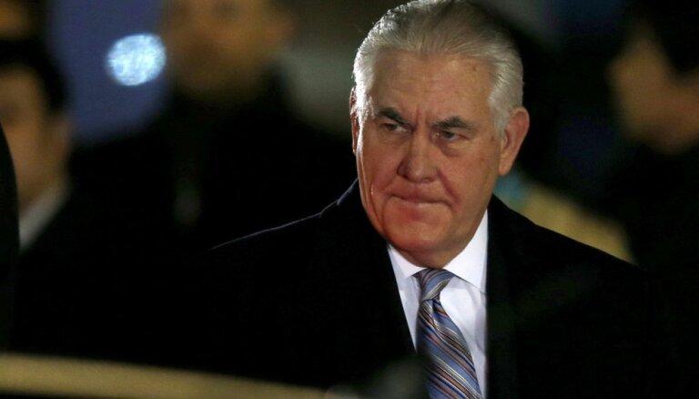 Тиллерсон призвал иранские вооруженные группировки уйти из Ирака