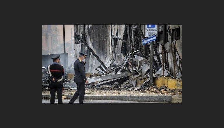 Милан: упавшим самолетом управлял румынский миллиардер Дан Петреску