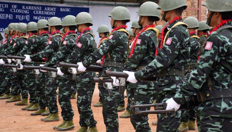 Mjanmas opozīcija aicina uz sacelšanos pret militāro huntu