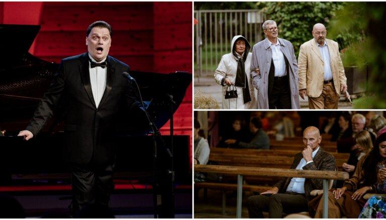 Foto: Mūzikas cienītāji bauda Antoņenko koncertu Jūrmalas festivāla izskaņā