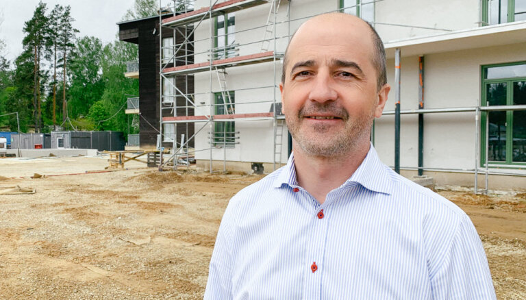 Var arī citādi. Būvnieks Harijs Čīka par biznesu Krievijā un mājokļu projektu Latvijā