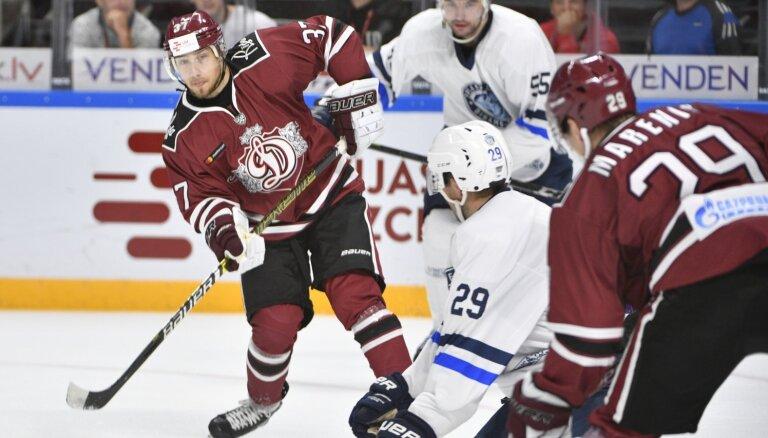 'Dinamo' spēlē uzvar Rīga un turpina cīņu par 'Latvijas Dzelzceļa' kausu