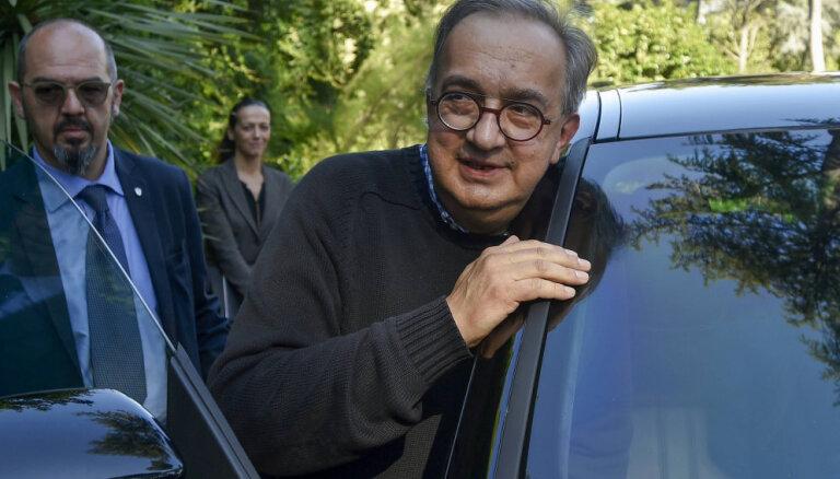 Veselības problēmu dēļ no amata atkāpjas 'Fiat Chrysler Automobiles' vadītājs Markione