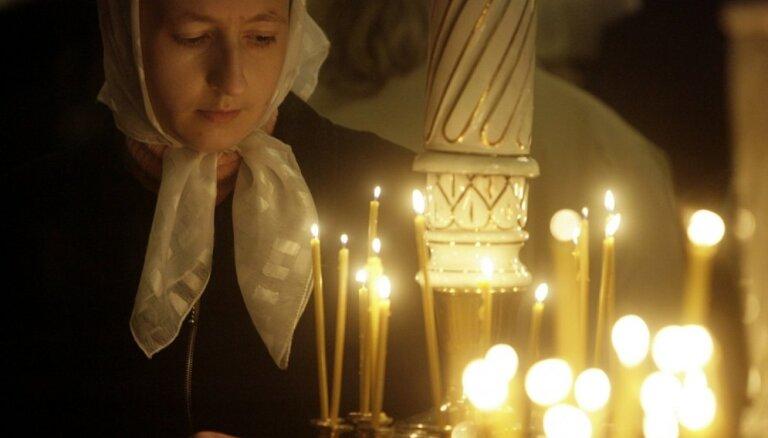 Православные и староверы Латвии празднуют Рождество