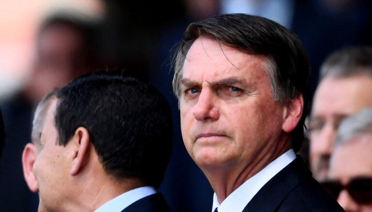 Bolsonaru atbalsta ASV bāzes izveidošanu Brazīlijā, lai pretotos Krievijas ietekmei