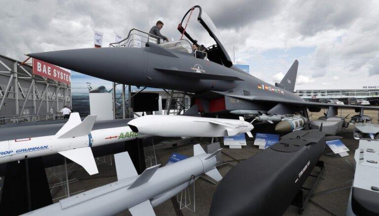 Эстония: найдено вероятное место падения ракеты, выпущенной истребителем НАТО