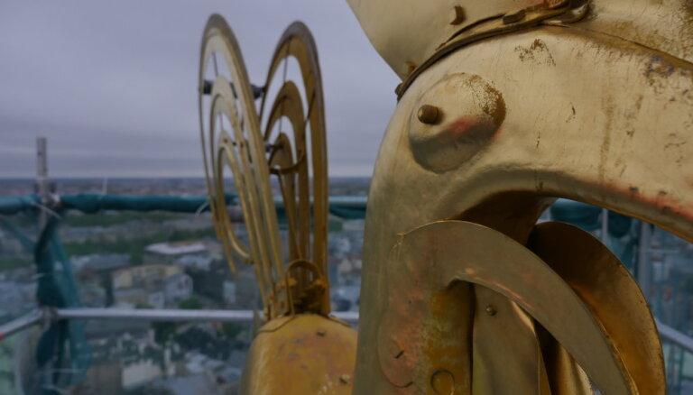 Video: Rīga no pilsētas galvenā gaiļa skatupunkta