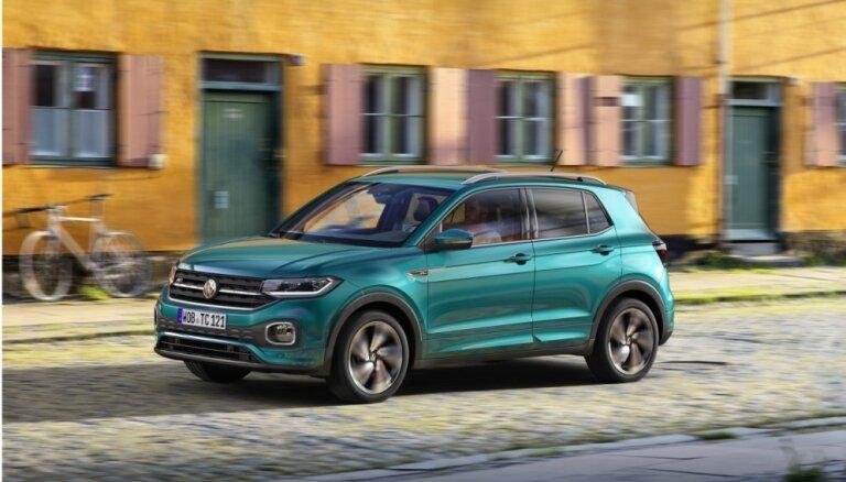 VW prezentējis savu vismazāko apvidnieku 'T-Cross'