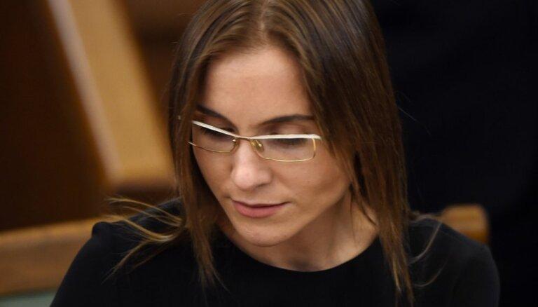 No 'KPV LV' izstājas arī frakcijas iekšējā opozicionāre Sprūde