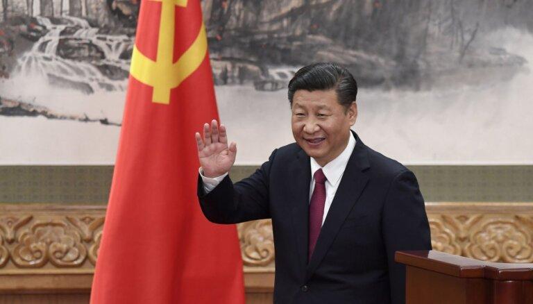 Sji aicina Taivānu uz 'miermīlīgu atkalapvienošanos'