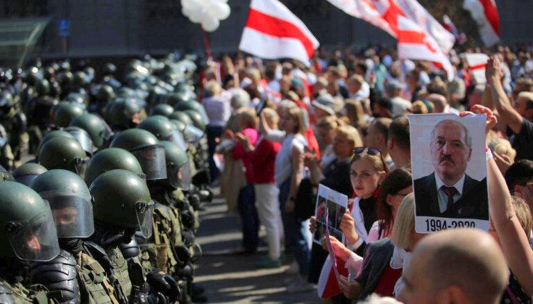 Valdība lems par 10 000 eiro atbalsta sniegšanu Baltkrievijas sabiedrībai